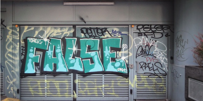 false-graffiti