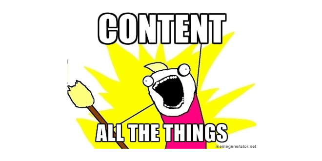 Content All The Things meme