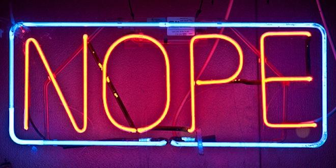 nope-neon-sign