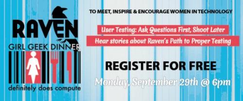 Raven Tools Hosts Girl Geek Dinner