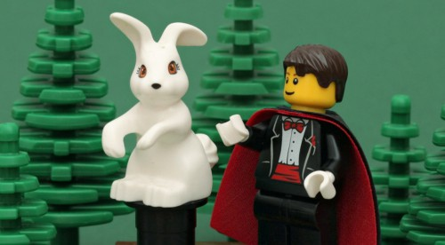 Magician and Rabbit Legos