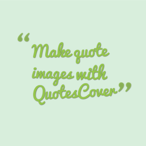 Make quote images with QuotesCover