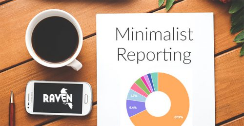 minimalist marketing reports